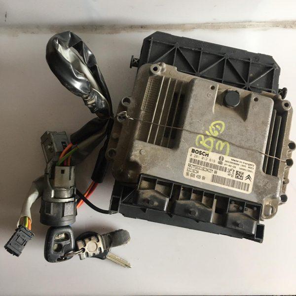 Centralina Motore Completa Citroen Berlingo 1.6 HDI 2007