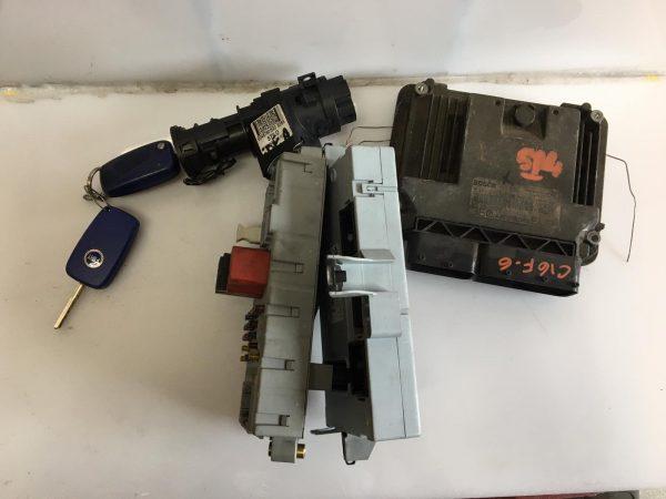 Centralina Motore 0281011514 Fiat Idea jtd, Centralina Body 51718916