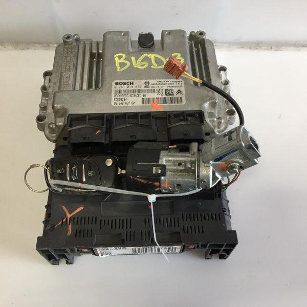 Centralina Motore Completa Citroen C3 Picasso HDI 2009