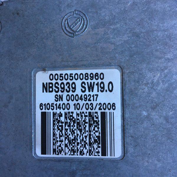 Centralina Motore Completa 0281012145 Alfa Romeo 159 jtd 2005