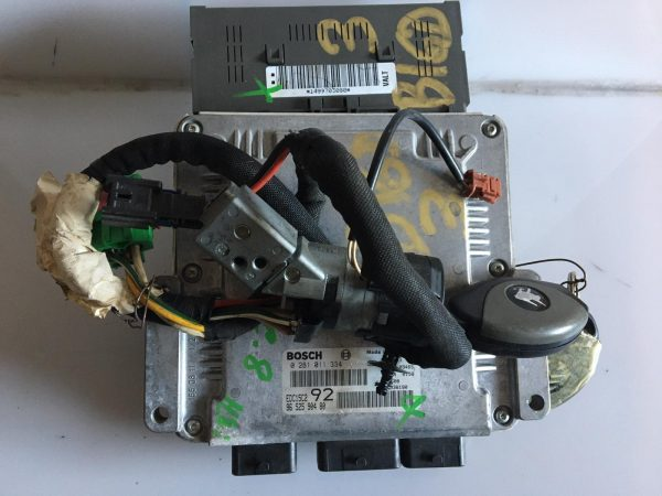Centralina Motore Completa Citroen C8 HDI
