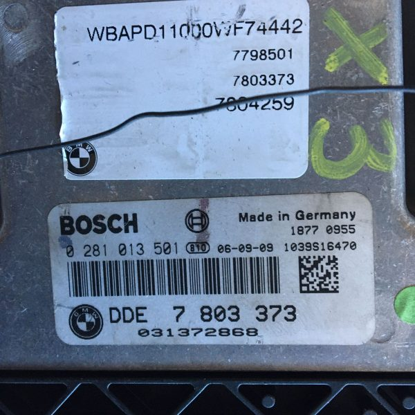 Centralina Motore Completa 0281013501 BMW X3 Diesel 2007