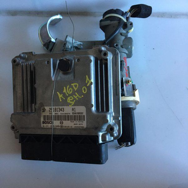 Centralina Motore Completa 0281016588 Chevrolet Captiva 2.0 benzina 2006