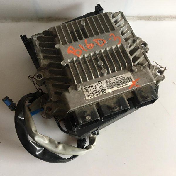 Centralina Motore Completa Citroen Berlingo 2 serie HDI 2003