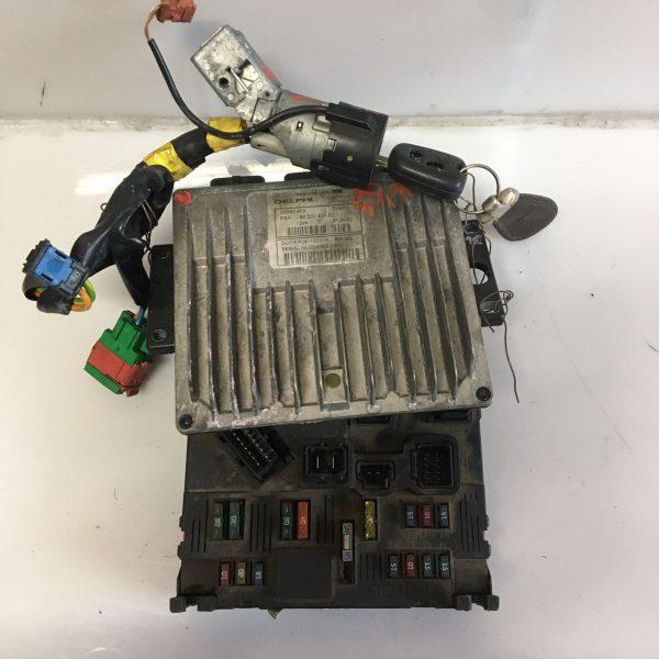 Centralina Motore Completa Citroen C3 hdi
